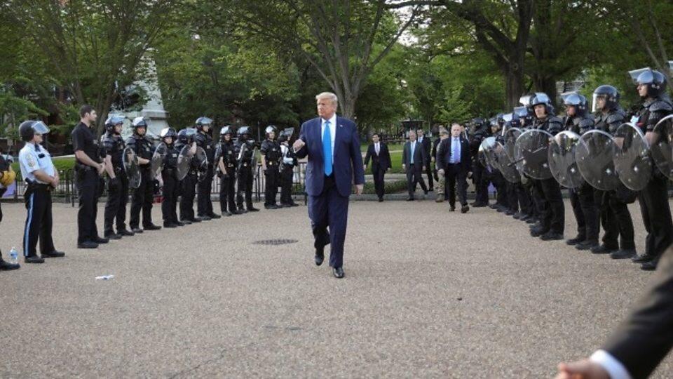 U.S. Marine General denounces Trump